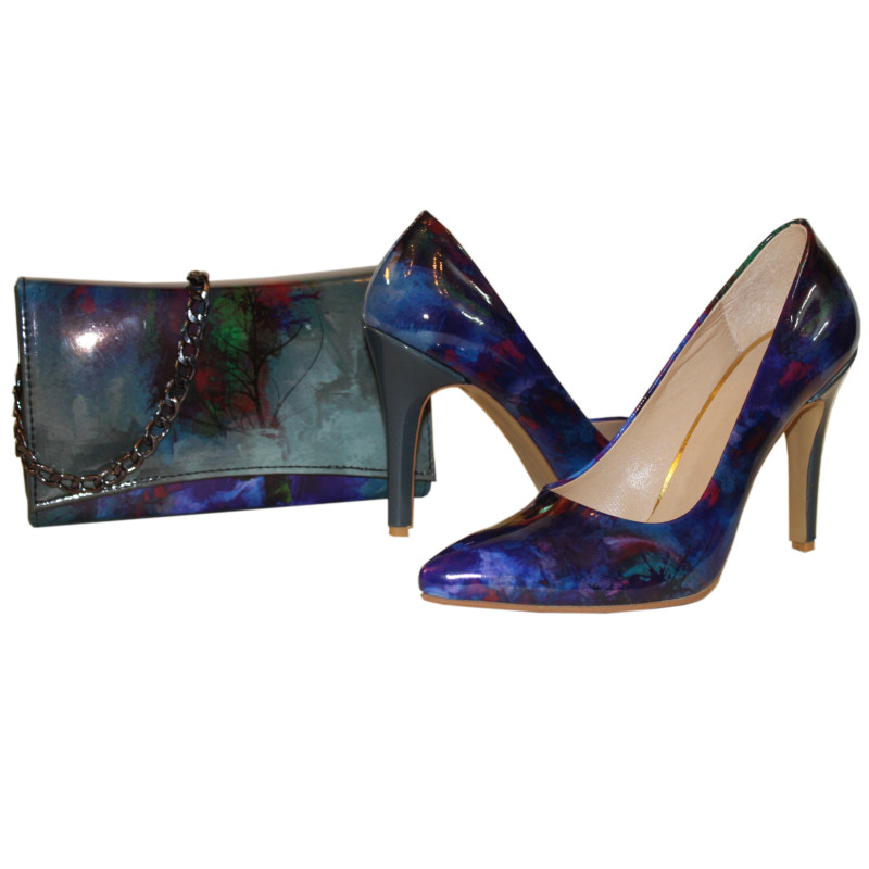 ست کیف و کفش زنانه کد 323