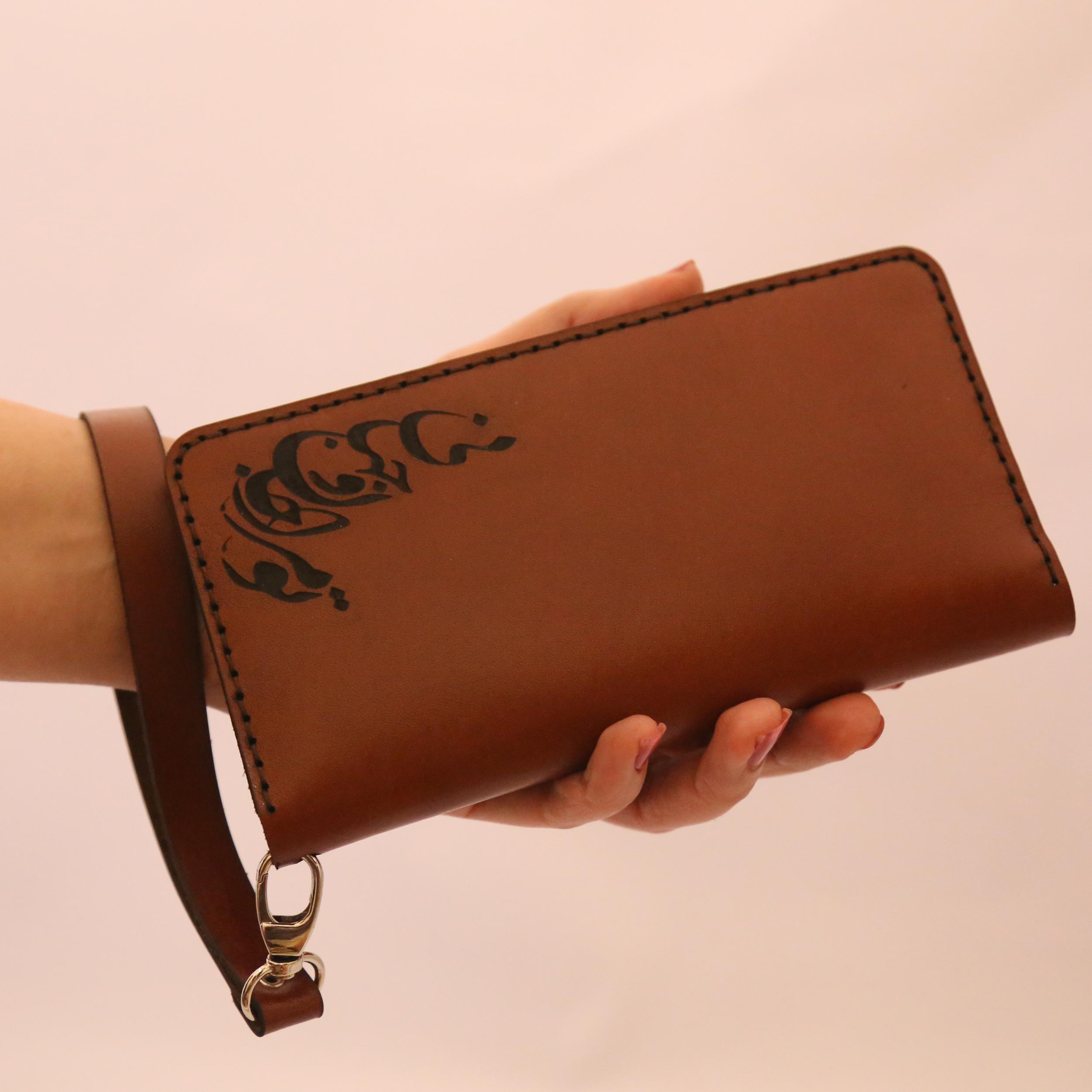 Leather wallet, Janan model, code 222
