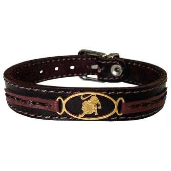 دستبند چرم وارک طرح نماد مرداد مدل پرهام کد rb76