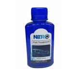 محلول درمان سفیدک آکواریوم  نیترو مدل A7 حجم 70 میلی لیتر