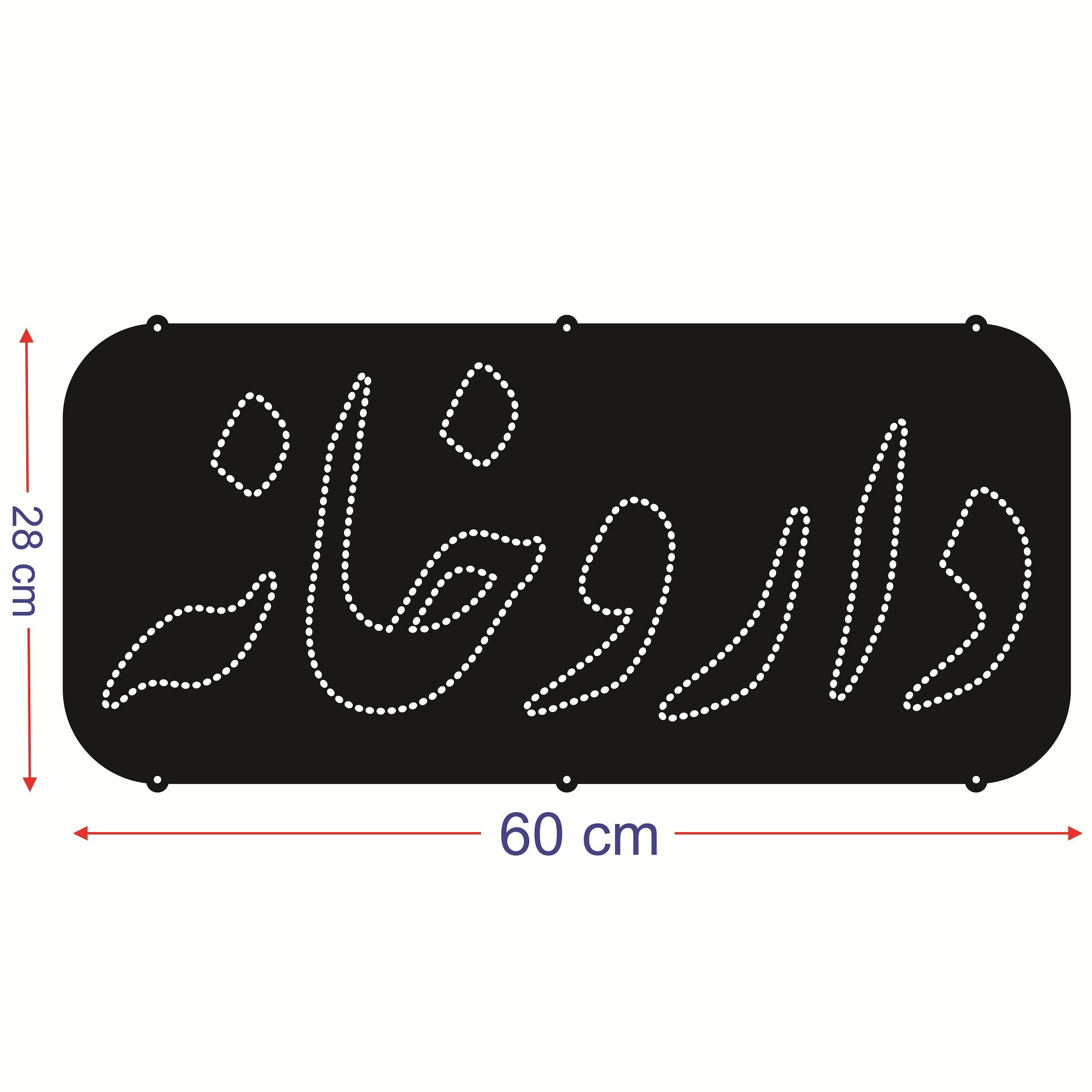 قیمت                      تابلو ال ای دی طرح داروخانه کد ۴۲۴