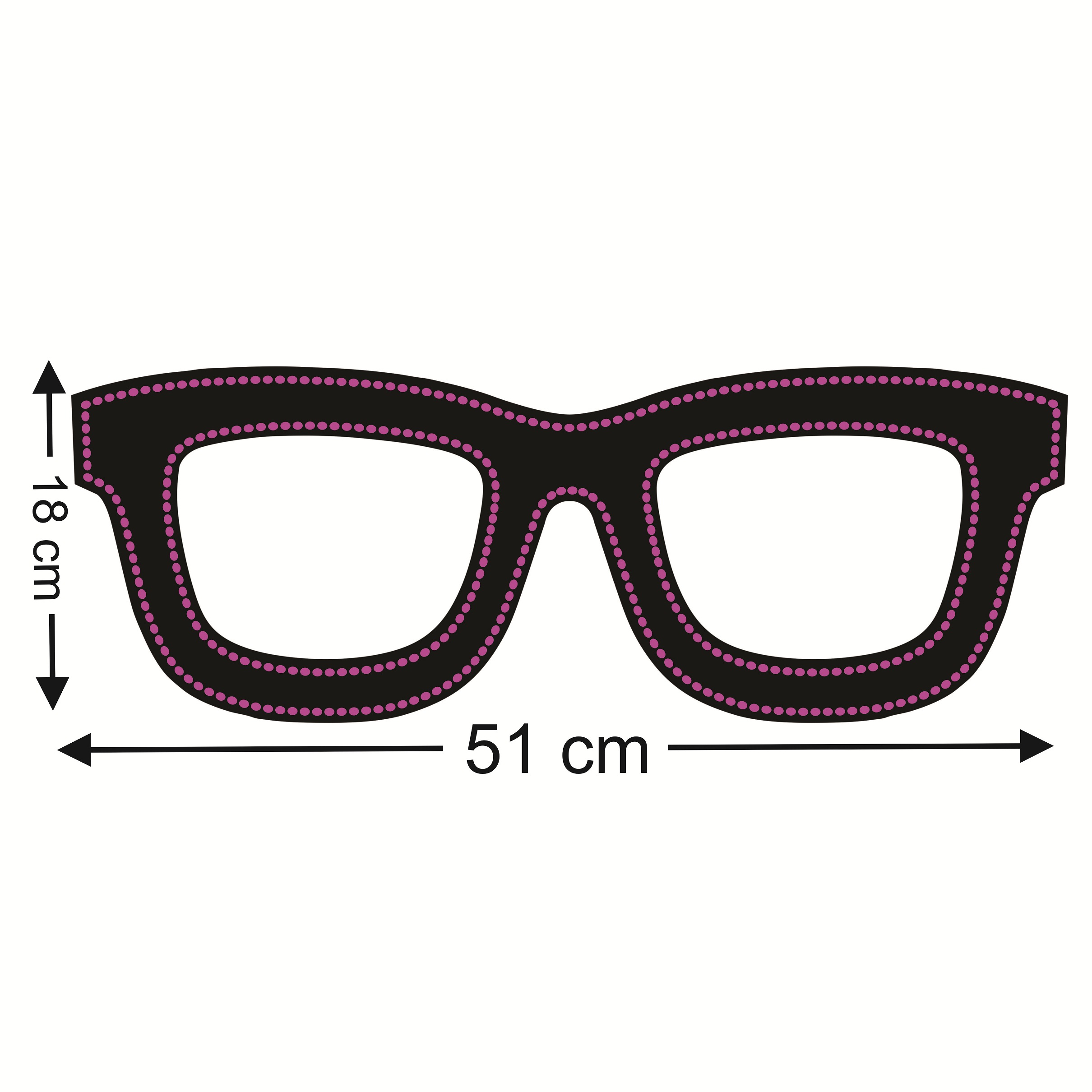 قیمت                      تابلو ال ای دی طرح عینک کد ۳۷۵
