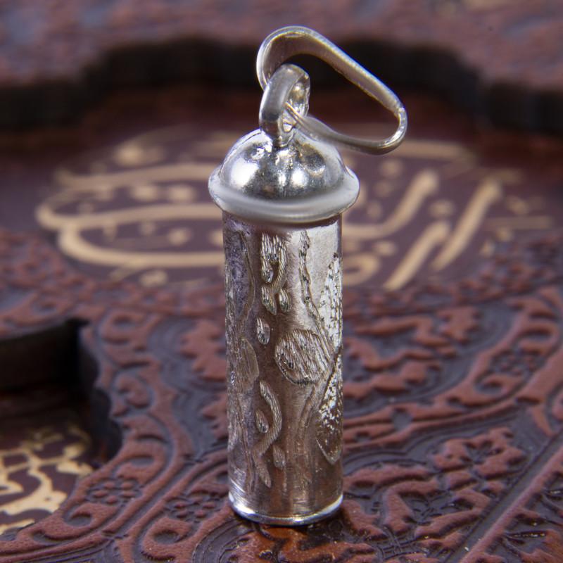 آویز گردنبند نقره زنانه بازرگانی میلادی  کد PKD_022