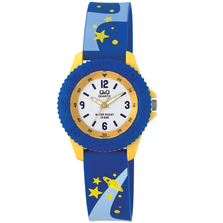 ساعت مچی عقربه ای پسرانه کیو اند کیو مدل VQ96J018Y