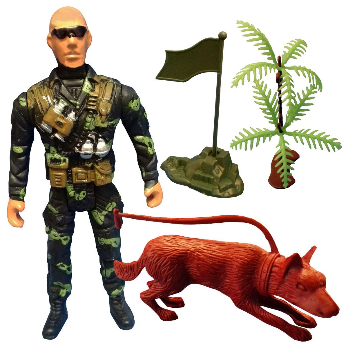 اسباب بازی جنگی مدل سرباز کد SOL8 مجموعه 4 عددی