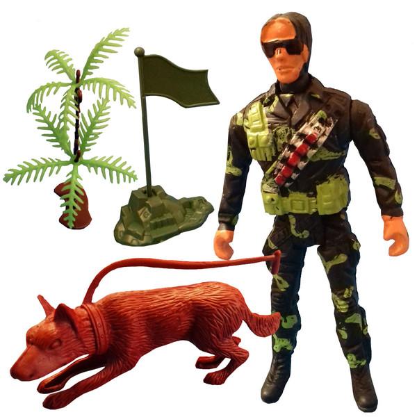 اسباب بازی جنگی مدل سرباز کد SOL10 مجموعه 4 عددی