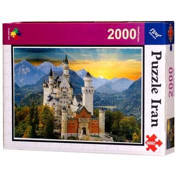 پازل 2000 تکه ایران پازل طرح Neuschwanstein Castle