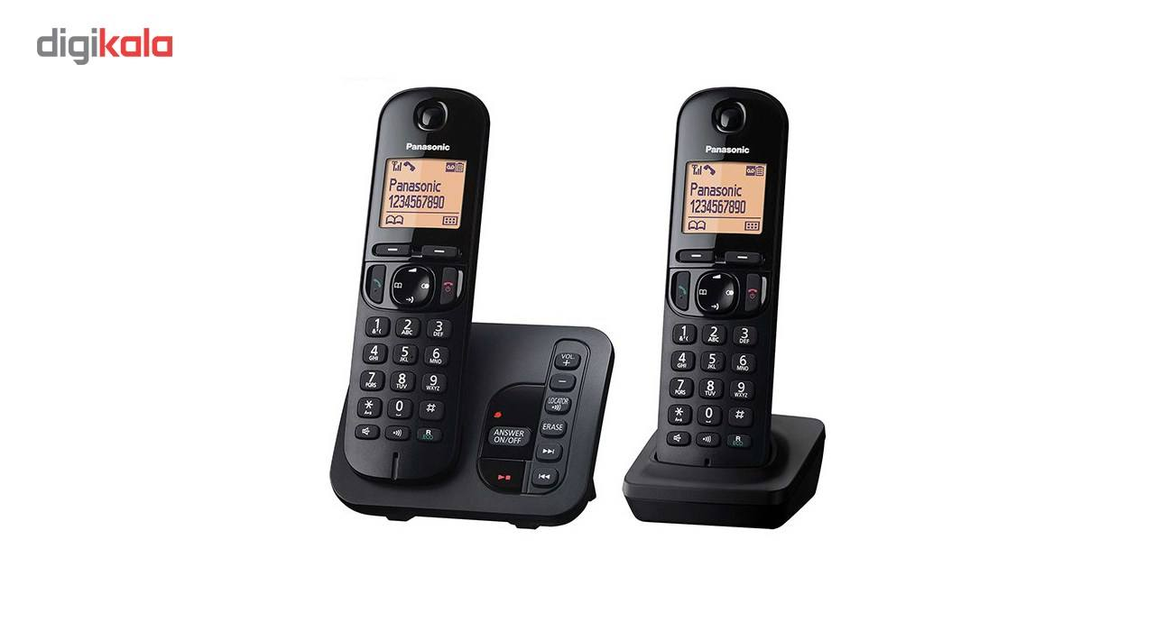تلفن بیسیم پاناسونیک مدل KX-TGC222 main 1 1