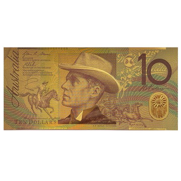 اسکناس تزیینی طرح 10 دلار استرالیا