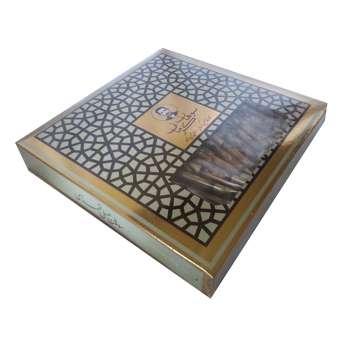 سوهان عسلی لقمهای گز کرمانی - 450 گرم