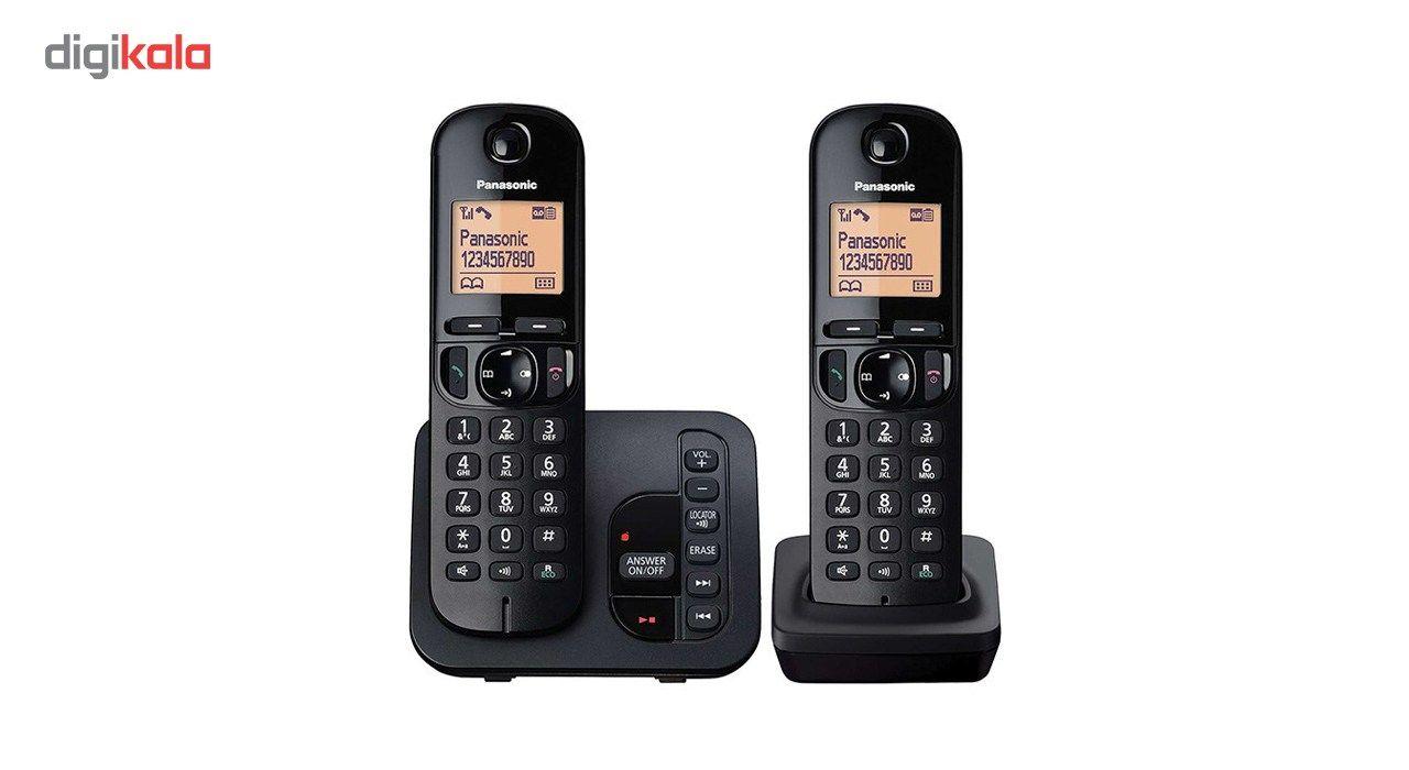تلفن بیسیم پاناسونیک مدل KX-TGC222 main 1 2