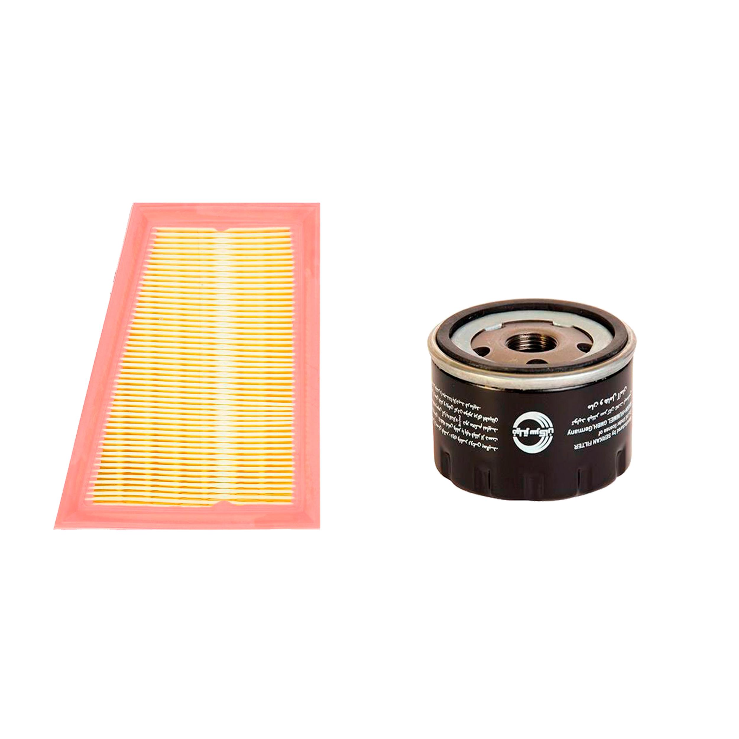 فیلتر روغن خودرو سرکان مدل SF7798 مناسب برای تندر۹۰ به همراه فیلتر هوا
