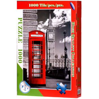پازل 1000 تکه رینگ طرح لندن کلاسیک