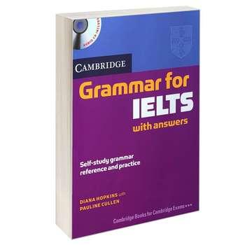 کتاب Grammar for IELTS اثر DIANA HOPKINS and PAULINE CULLEN انتشارات CAMBRIDGE