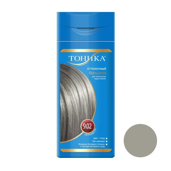 شامپو رنگ مو تونیکا شماره 9.02 حجم 150 میلی لیتر رنگ مرواریدی