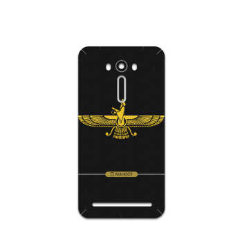 برچسب پوششی ماهوت مدل Farvahar مناسب برای گوشی موبایل ایسوس Zenfone 2 Laser