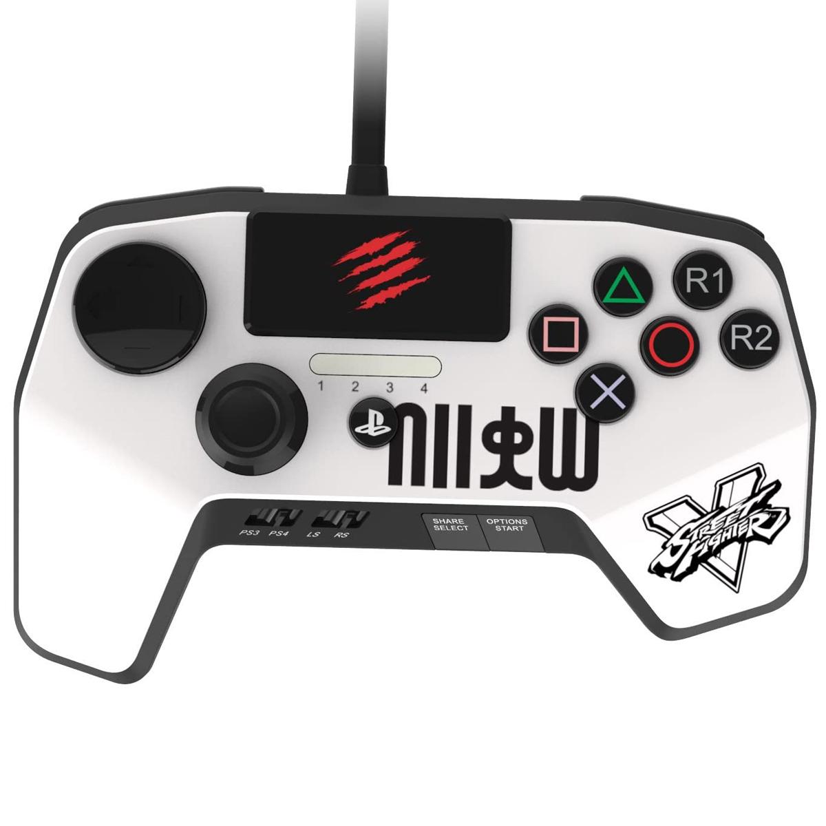 دسته بازی پلی استیشن 4 مدل MadCatz Arcade FightPad Street Fighter V
