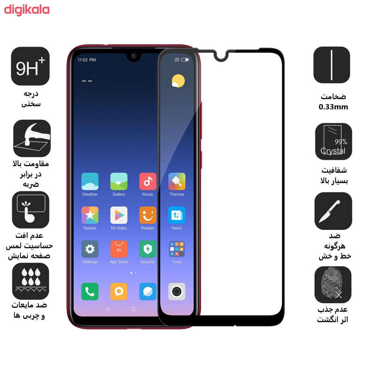 محافظ صفحه نمایش ولگا مدل powertech مناسب برای گوشی موبایل شیائومی Redmi Note 7 main 1 1