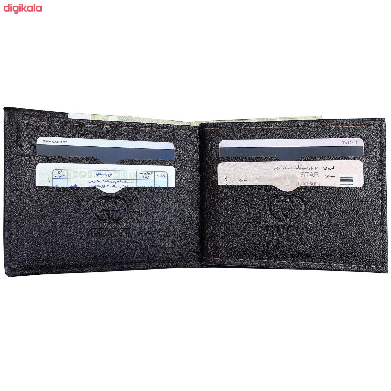 کیف پول مردانه مدل Lev main 1 1