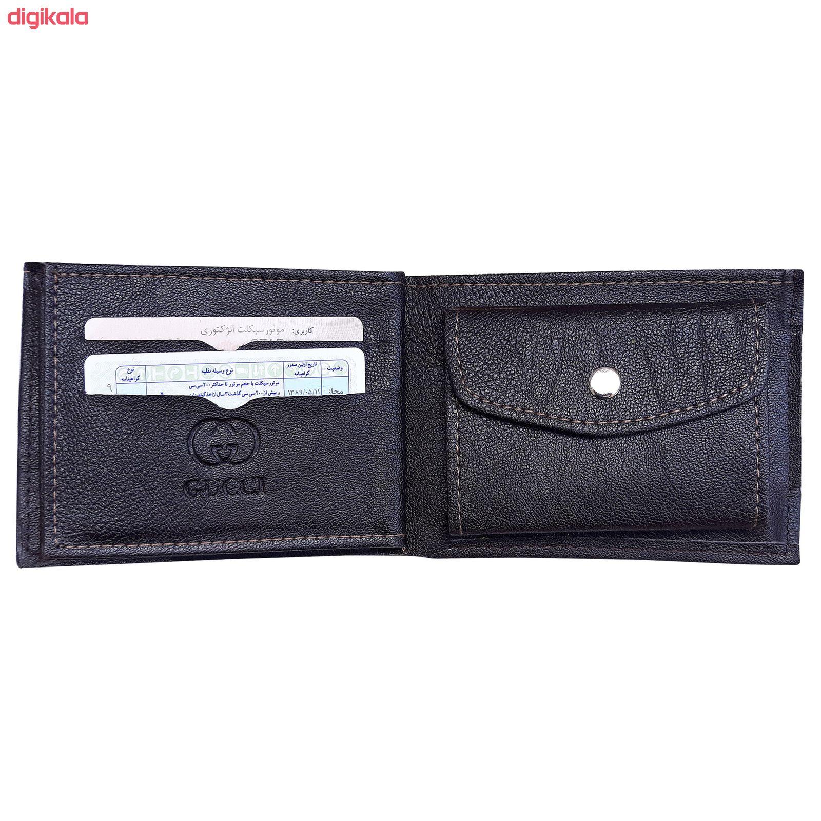 کیف پول مردانه مدل Lev main 1 2