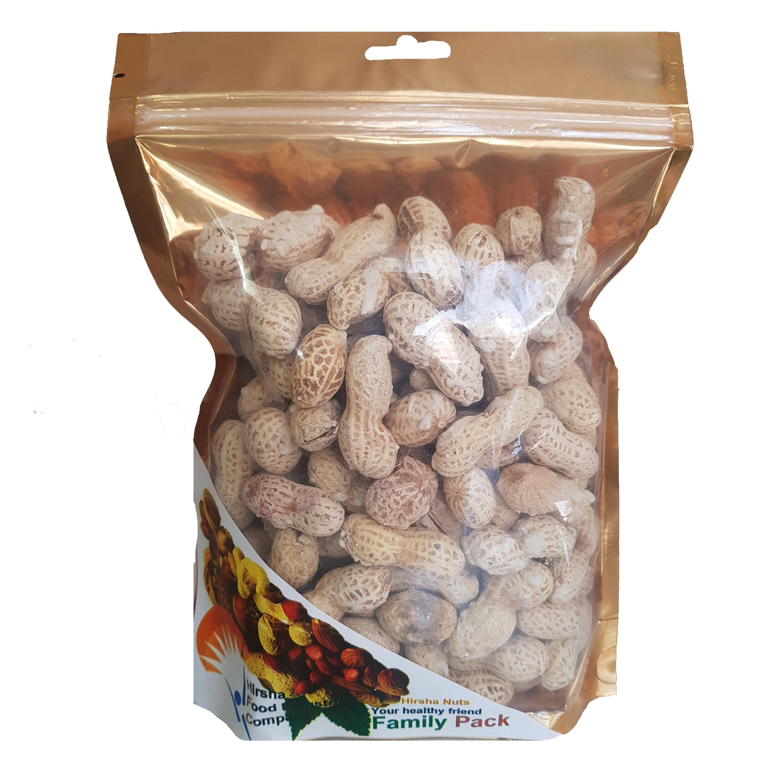 بادام زمینی با پوست هیرشا - 250 گرم