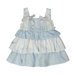 پیراهن نوزادی دخترانه فیورلا مدل 2091120-50