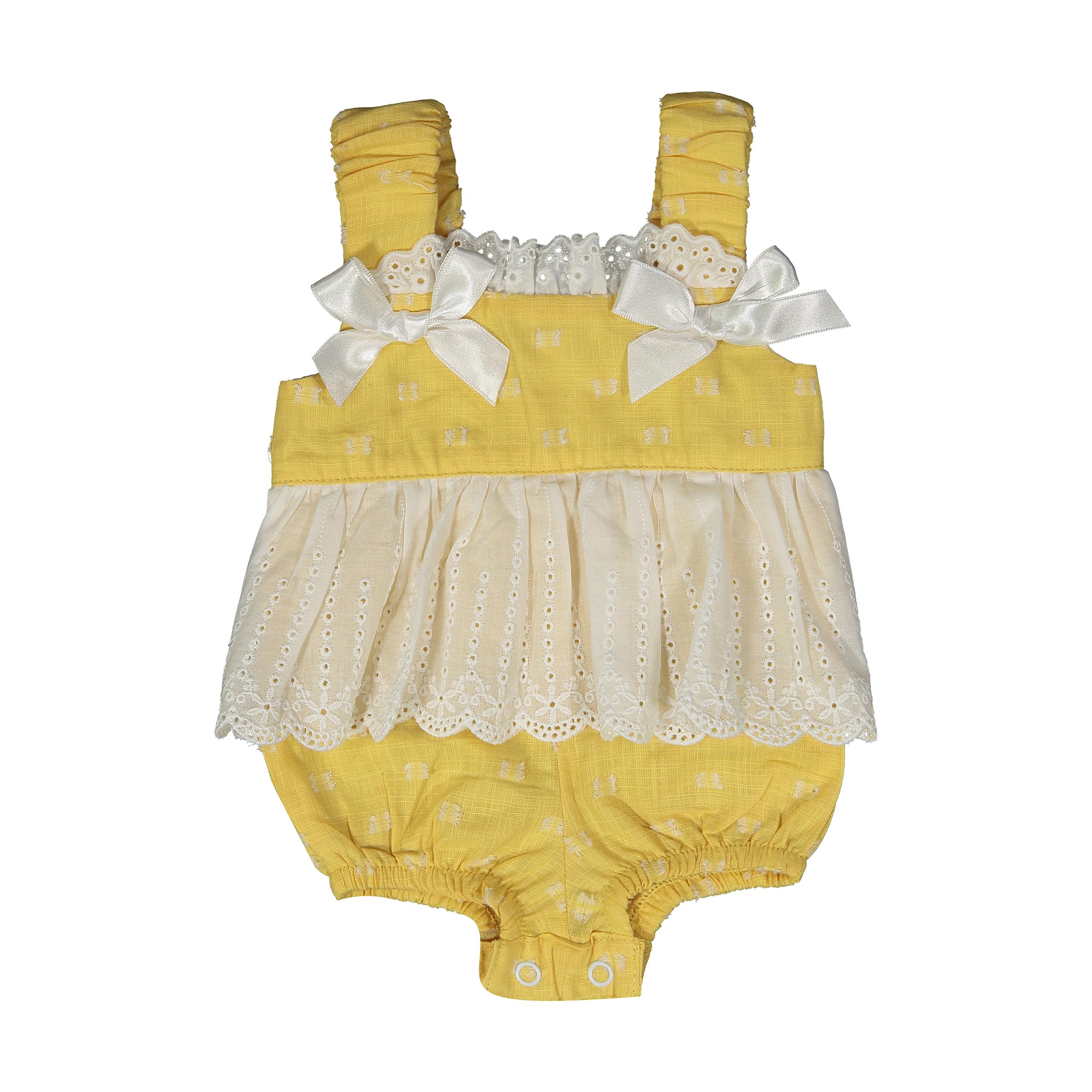 سرهمی نوزادی دخترانه فیورلا مدل 2091141-16