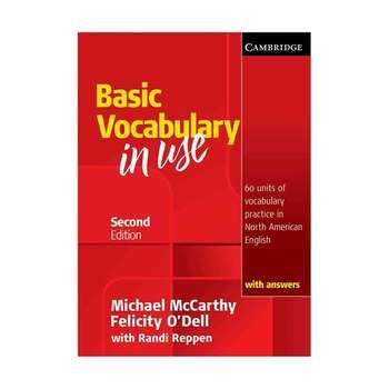 کتاب Basic Vocabulary in use اثر جمعی از نویسندگان انتشارات Cambridge