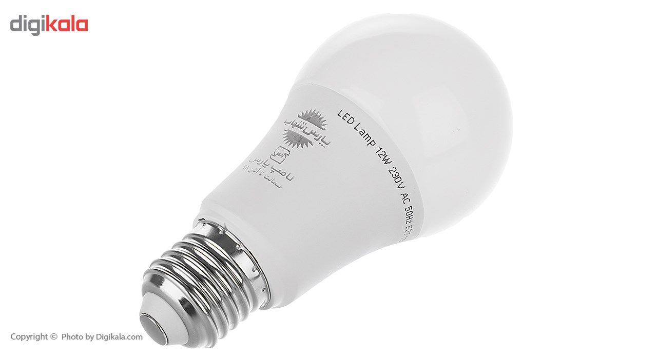 لامپ ال ای دی 12 وات پارس شهاب پایه E27 main 1 1