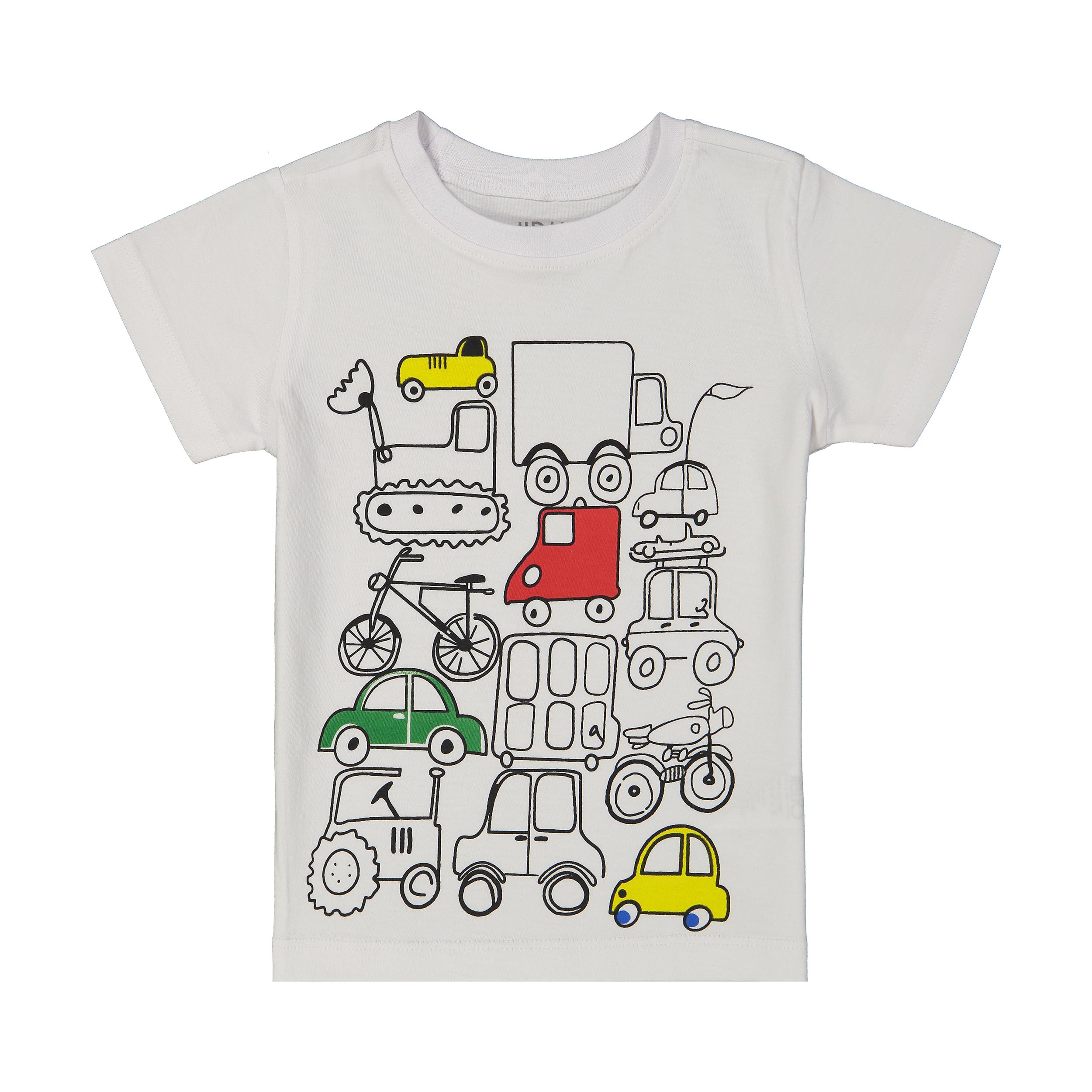 تی شرت پسرانه جیبیجو مدل 2081107-01