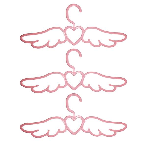 چوب لباسی طرح فرشته کد M900 بسته ۳ عددی