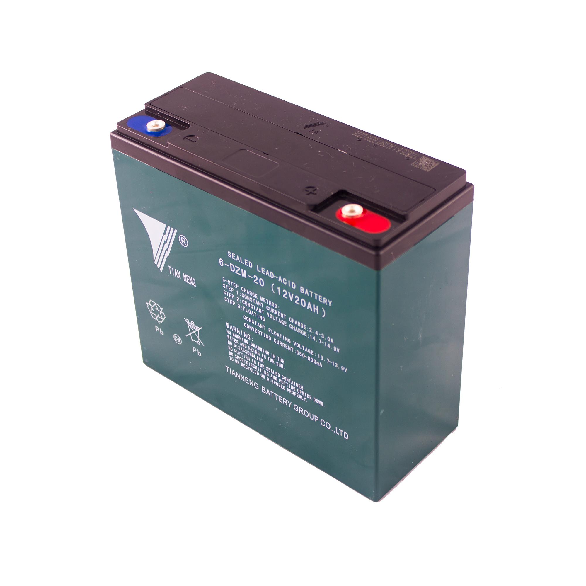 باتری موتور سیکلت تیانینگ مدل DZF20 بسته 6عددی