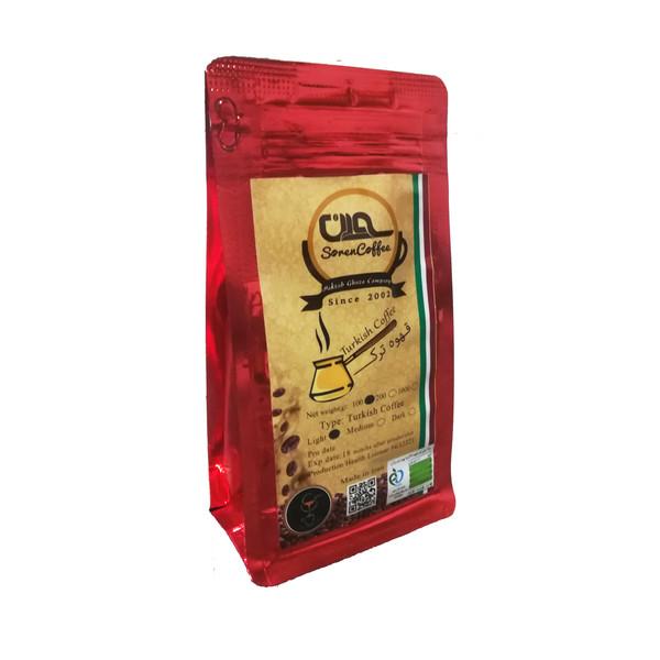پودر قهوه ترک سورن کد TC1-4354 مقدار 100 گرم