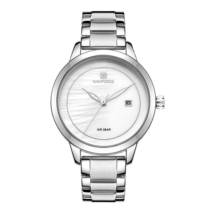 ساعت مچی عقربه ای زنانه نیوی فورس مدل NF5008-SW              خرید (⭐️⭐️⭐️)