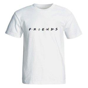 تی شرت آستین کوتاه زنانه طرح فرندز کد 35123