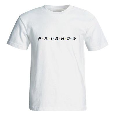 تصویر تی شرت آستین کوتاه زنانه طرح فرندز کد 35123