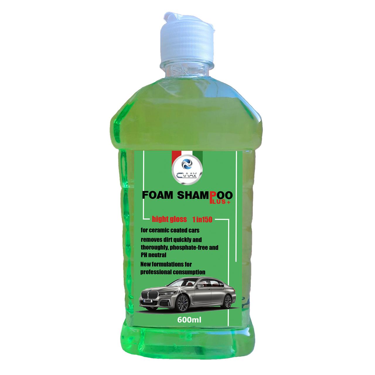 شامپو براق کننده و تمیزکننده خودرو سیواکس مدل cw-60099 حجم ۶۰۰ میلی لیتر