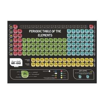 پوستر آموزشی مستر راد طرح جدول تناوبی مدل periodic 82688-06