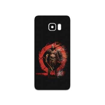 برچسب پوششی ماهوت مدل GOD-OF-WAR-Game مناسب برای گوشی موبایل سامسونگ Galaxy S6 Edge Plus