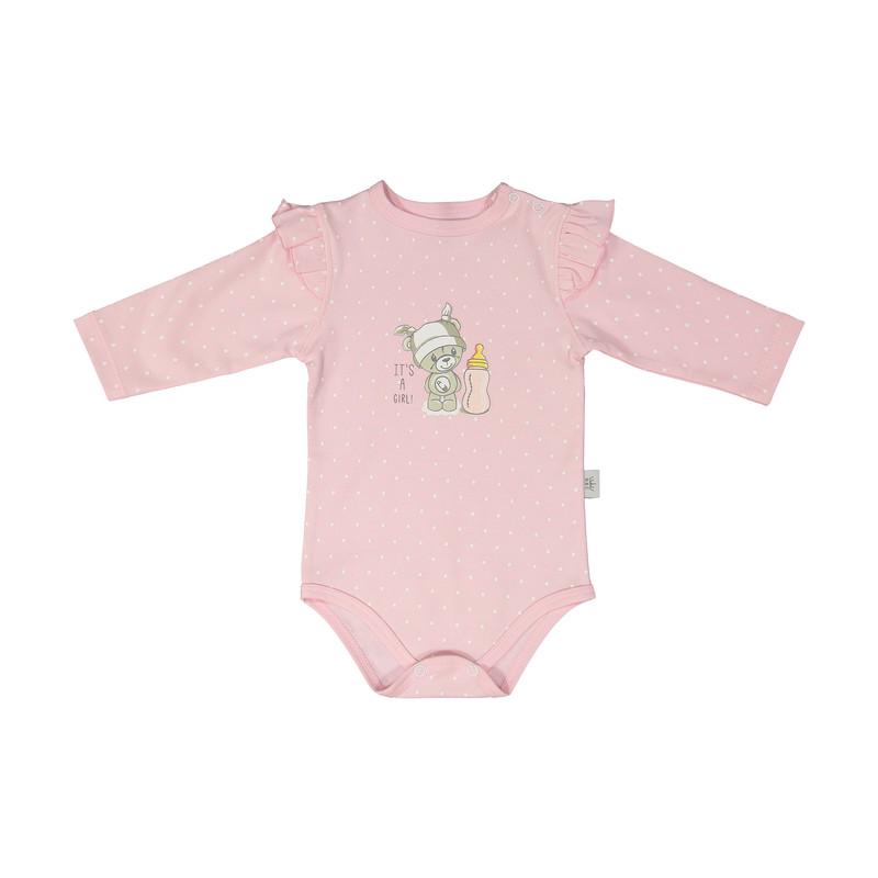 ست بادی و شلوار نوزادی دخترانه ان بی سی مدل 2071100-87