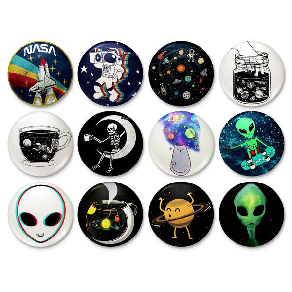 پیکسل خندالو طرح آدم فضایی کد 79 مجموعه 12 عددی