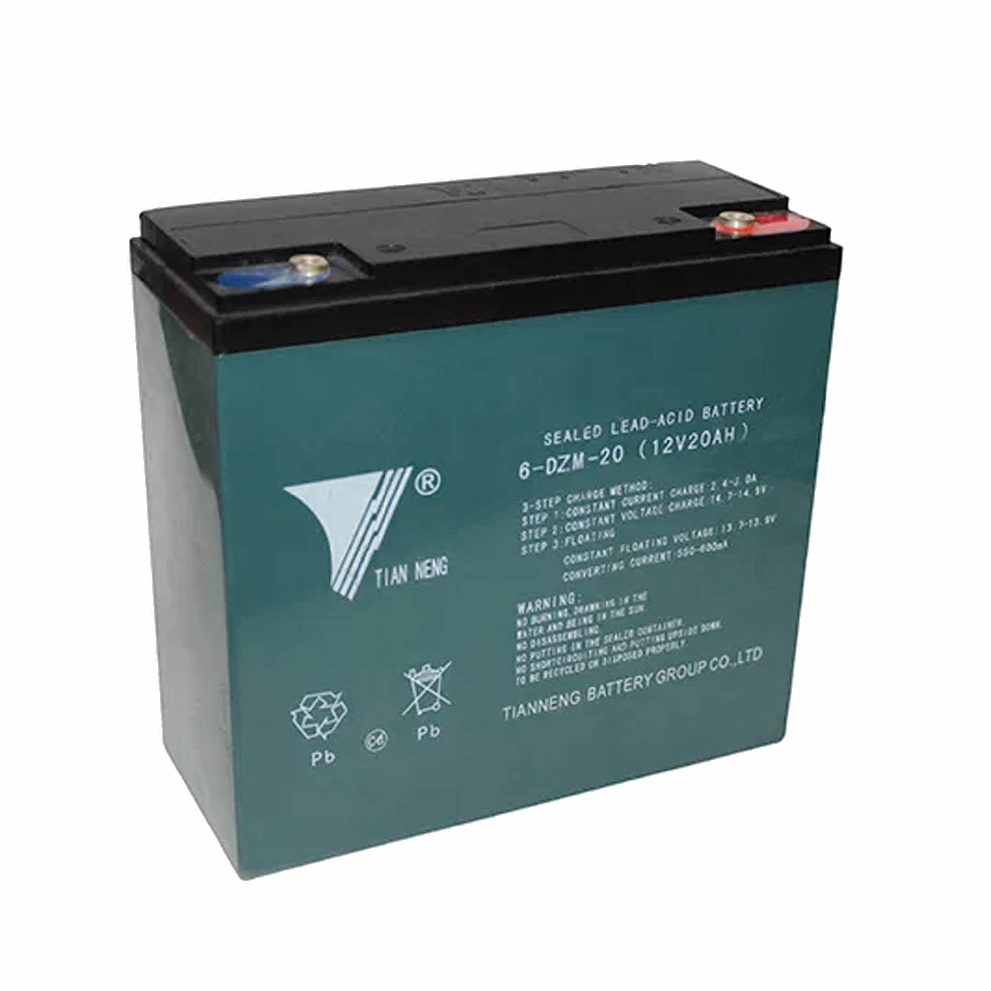 باتری موتور سیکلت تیانینگ مدل DZF20 بسته 5عددی