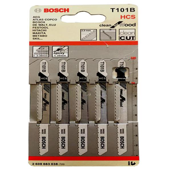 مجموعه ۵ عددی تیغ اره عمودبر بوش مدل T101B