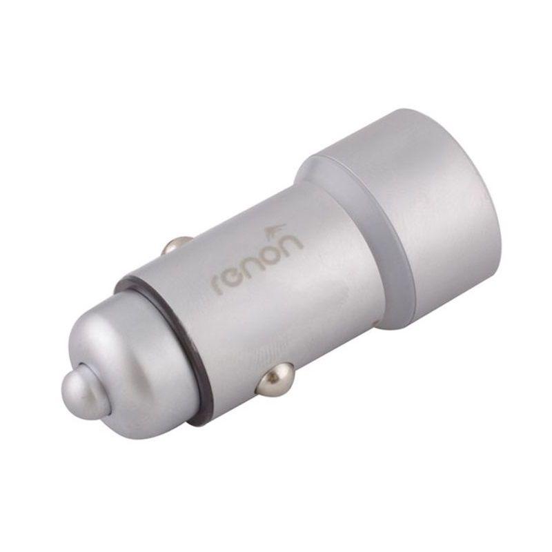 شارژر فندکی رنون مدل RN 181 به همراه کابل تبدیل USB-C main 1 2