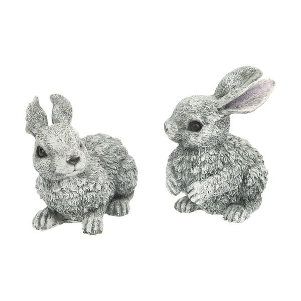 مجسمه طرح خرگوش مجموعه دو عددی