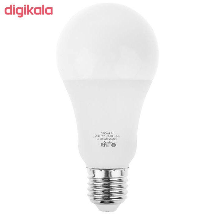 لامپ ال ای دی 12 وات افراتاب مدل AF-BULB-12W پایه E27 بسته 3 عددی main 1 4
