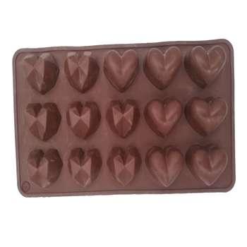 قالب شکلات طرح قلب کد n02