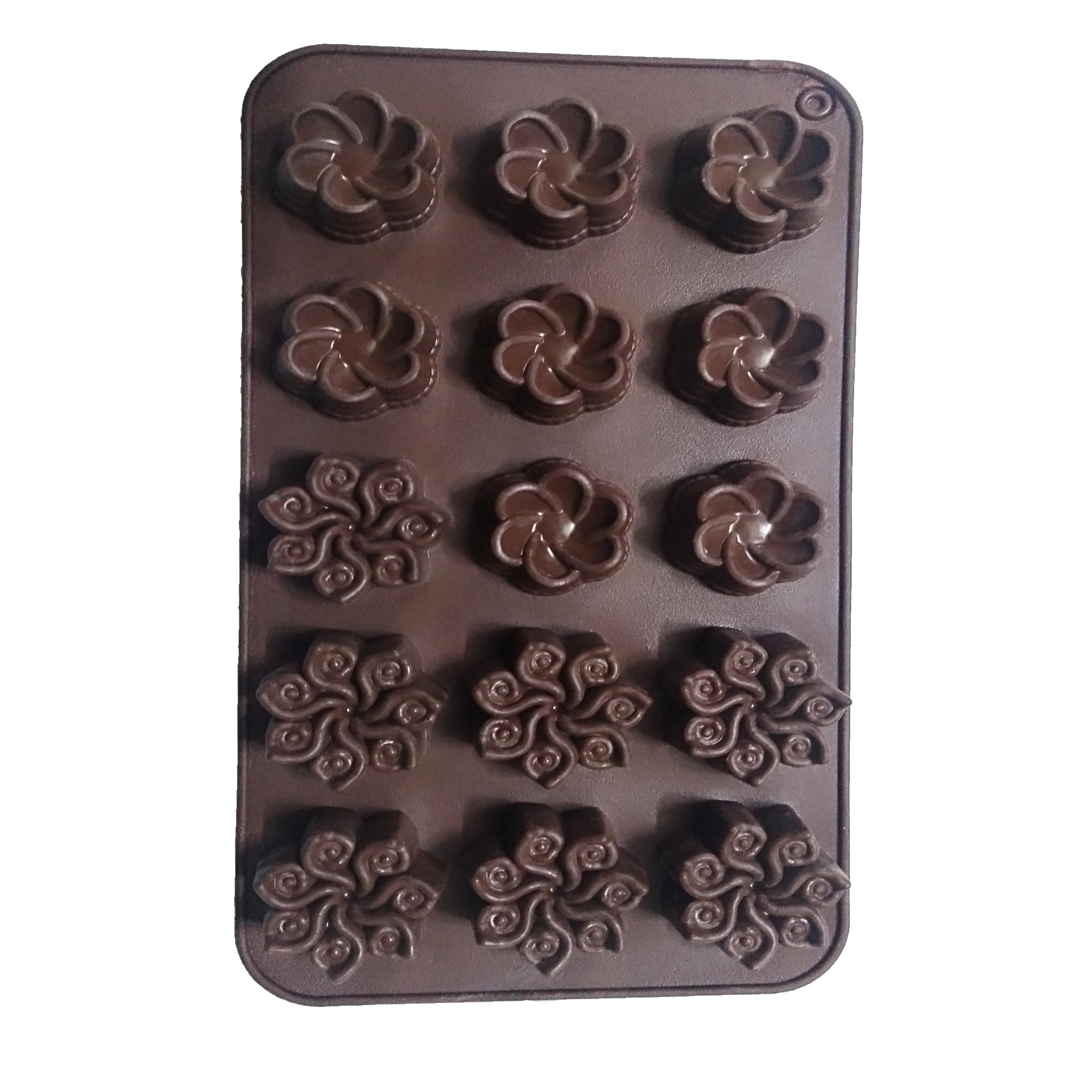 قالب شکلات طرح گل کد n02