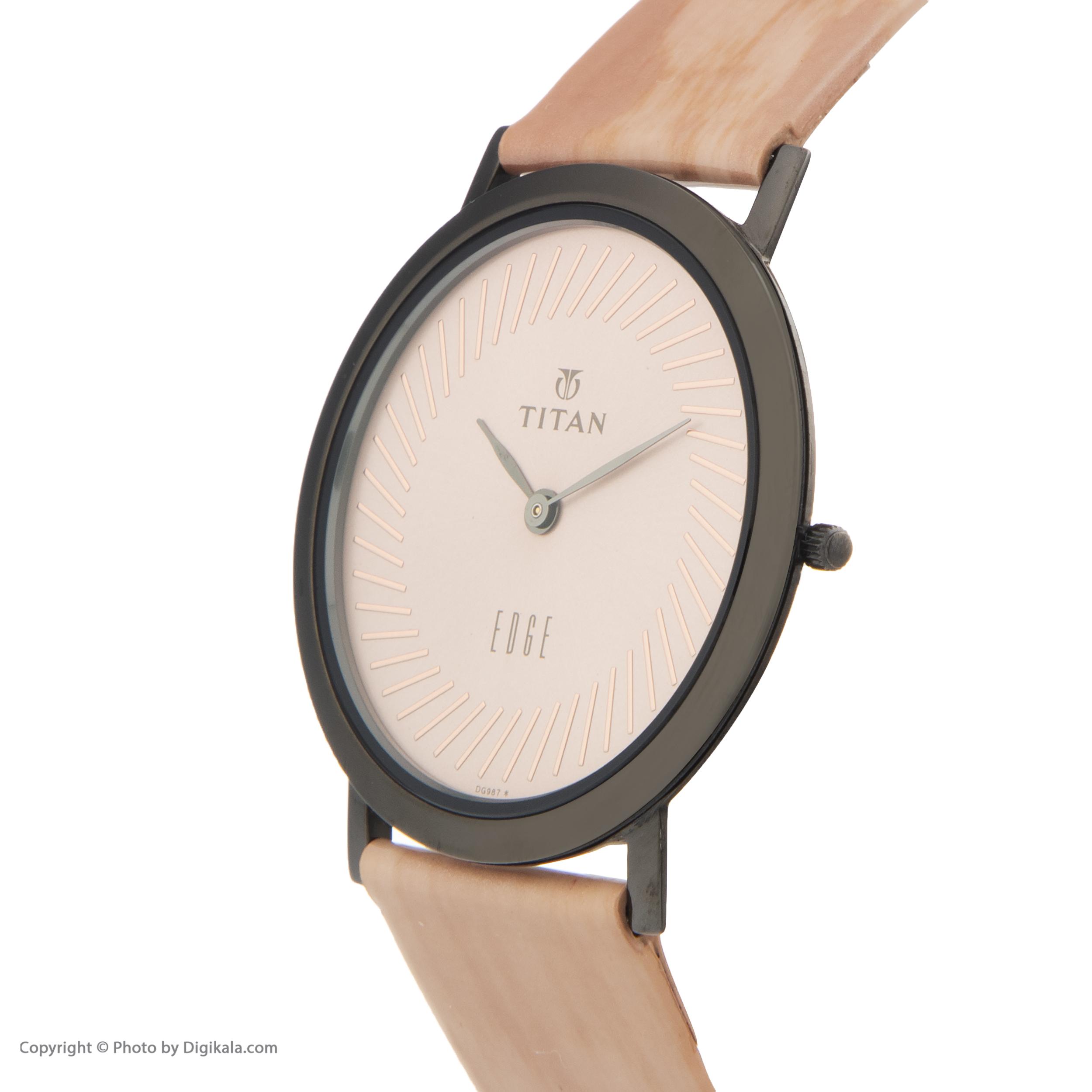 ساعت مچی عقربه ای مردانه تایتن مدل T679QL02