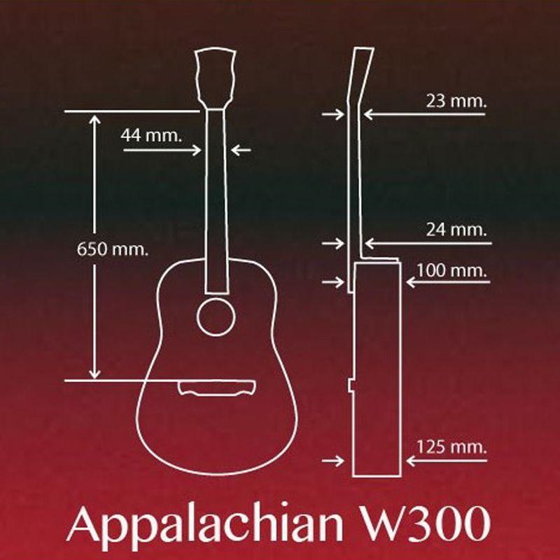 گیتار آکوستیک الحمبرا مدل کونکا w300b main 1 1